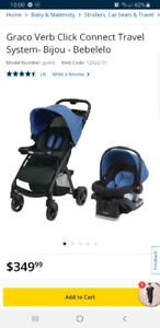 Graco Car seat with stroller - Travel system