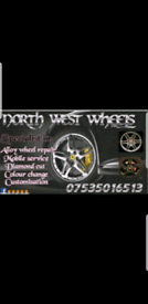 Alloy wheel refurbishment. Mobile service. Wow! Special offer