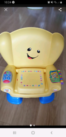 Fisher price smart stages activity chair