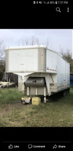Custom 27' Enclosed Gooseneck Trailer