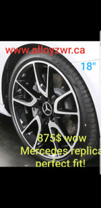 "MERCEDES BENZ MAGS 18"" CLA C SERIES B SERIES NEW IN BOX"