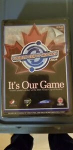 World Cup of Hockey its Our game 2004 dvd