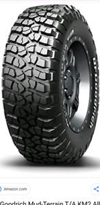 "Bfgoodrich KM2 new tire for sale 17"""
