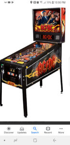 Look for an arcade quilty pinball machine