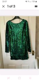 BEAUTIFUL GREEN/ dress