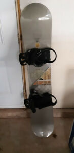 Two Snowboards with bindings