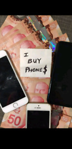 $$$ Buying iphones used damaged or new $$$