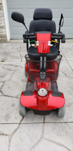 FORTRESS 1700 TA, Mobility Scooter, 4 Wheels, Red/Black