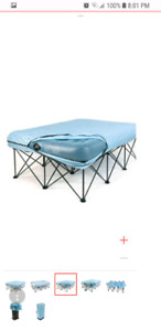 Folding Queen air matress frame