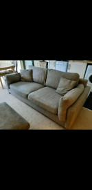 Sofology Scrumptious 3 seater sofa, armchair, footstool