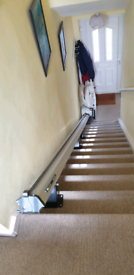 "Clarke and Partners Stair Lift "" LIKE NEW """