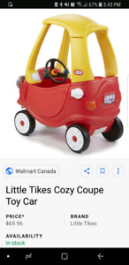 Looking for cozy coupe