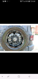 33 inch rims and tires x5
