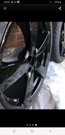 VW/AUDI ROTOR ALLOY WHEELS WITH TYRES