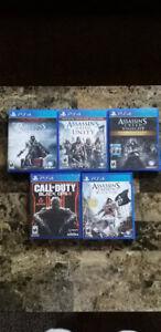 PS4 GAMES - read description