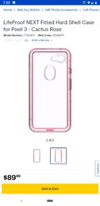 Brand new pixel 3 lifeproof next case