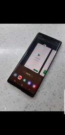 Samsung note 8 64gb unlocked crack on screen full working