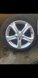 Audi/vw alloy wheels