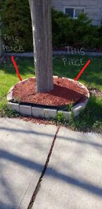 Tree Curb - concrete - FREE !
