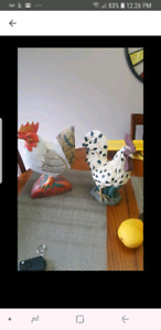 Country kitchen chickens