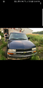 2003 chevy s10 trade for atv plus cash