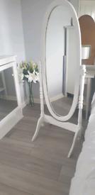 Beautiful free standing mirror