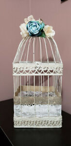 Vintage / Rustic Bird Cage - Wedding Decoration - Bridal Shower