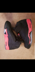 Retro Nike air jordan 5 3 lab 5 infrared size 11.5