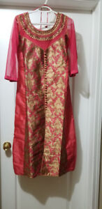 Brand new Indian suit (latest fashion) with skirt and dupatta. B