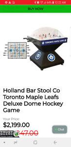 Toronto maple leafs air hockey table