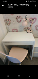 Desk ,chair and drawers