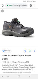 Soulier securité timberland oxford neuf