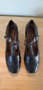 2 Pair of Black Leather Shoes