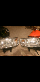 Vw t5 front headlights