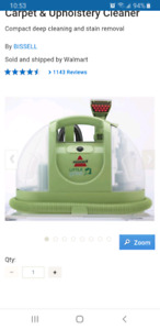 BISSELL Little Green Multi-Purpose Portable Deep Cleaner, 1400J