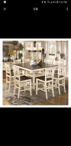 Ashley Whitesburg 9 Piece Counter Height Dining Set
