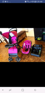 Cosco Juvenile Lift & Stroll Baby Travel System