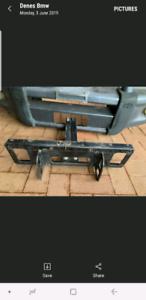 Toyota hilux bullbar with winch bracket