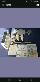 Nintendo Wii Console- Sports Bundle - ALL WORKING - VERY CLEAN
