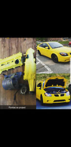 08 pontiac g5 gt with complete supercharger kit
