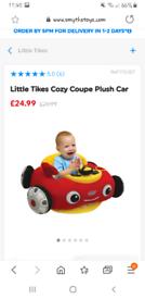 Little tikes plush car
