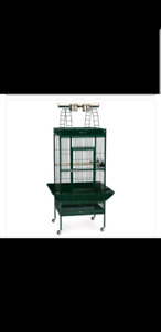 Extra large Parrot Cage with play top