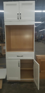 WHITE TALL CABINET