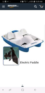 Electric Paddle Boat