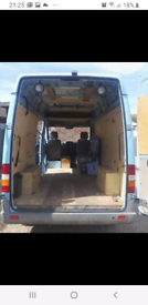 Van and 2 men Removals,etc