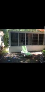2011 Park model trailer w/sunroom