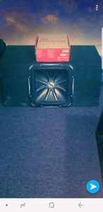 15inch subwoofer with brand new amp!!