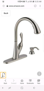 Delta Ashton Faucet with Soap Dispenser