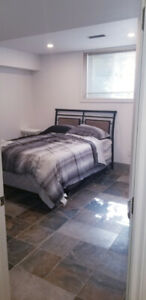 1 BEDROOM ( out of three) SHARING FACILITIES FOR RENT (basement)