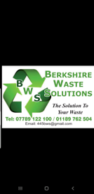 BERKSHIRE WASTE SOLUTIONS RUBBISH CLEARANCE SERVICE ASCOT BRACKNELL WOKINGHAM
